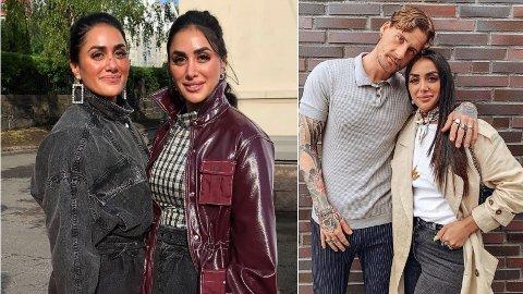TVILLINGKONFLIKT: Det har ikke vært like lett for tvillingene Vita og Wanda Mashadi da en av dem fikk seg kjæreste.