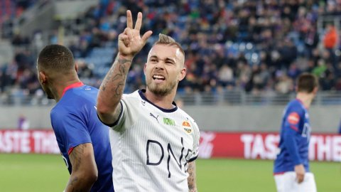 FORLATER GODSET: Marcus Pedersen er ferdig som Strømsgodset-spiller og har sagt opp kontrakten sin med klubben.