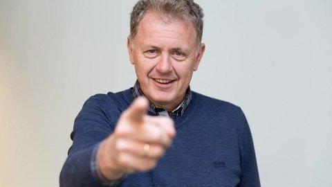 FORNØYD TROSS NEDGANG: Sjefredaktør Gunnar Stavrum i nettavisen er fornøyd med 2018, som var et omstillingsår.