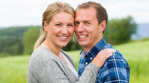 GIFT: Ingvar Alstad (33) og Trine Merethe Maaø Sverkmo (26) har giftet seg.
