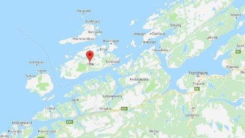 DRUKNINGSULYKKE: En mann i 60-årene har omkommet etter en dykkerulykke på Hitra.