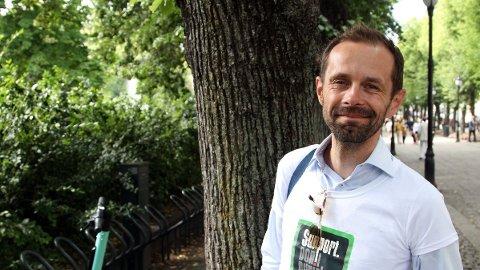 TOPPKANDIDAT: Hallstein Bjercke, toppkandidat for Oslo Venstre.