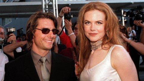 ISFRONT: Nye harde anklager mot Tom Cruise mener at han skal ha hjernevasket sine egne barn til å kutte kontakt med moren deres, Nicole Kidman. Her er det tidligere ekteparet fotografert i 1999.