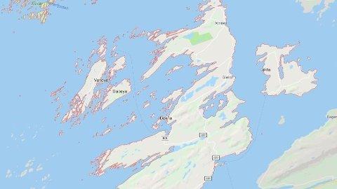OMKOM I DYKKERULYKKE: En mann i 50-årene døde etter en dykekrulykke, rett vest av Dønna på Helgeland.