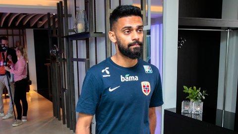 TIL GRESK KLUBB: Ghayas Zahid er klar for Panathinaikos.