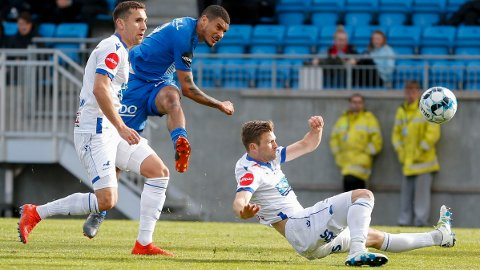 JAKTER EUROPA-EVENTYR:. Molde og Haugesund spiller første kamp i Europa League-kvalikens andre runde denne torsdag. Her er Molde representert ved Ohi Omoijuanfo og Haugesund ved Benjamin Tiedeman Hansen og Sondre Tronstad.