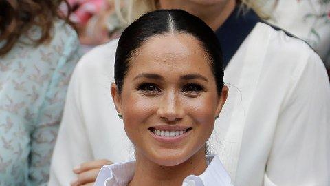 NY JOBB: Hertuginne Meghan har kastet seg ut i oppgaven som gjesteredaktør i den britiske utgaven av det internasjonale motemagasinet Vogue.