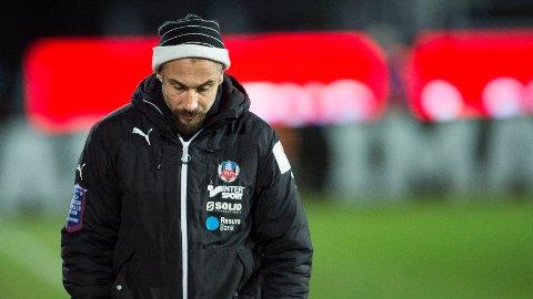 HENRIK LARSSON: Henrik Larsson ble ansatt som Helsinborg-trener for en måned siden. Det har ført til en oppsving hos Skåne-laget