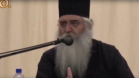 OPPKLARER: Neophytos Masouras, biskop av Morphou på Kypros, har en uvanlig forklaring på hvorfor noen blir homofile.