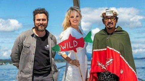 STORT ENGASJEMENT: Pamela Anderson skaper nok en gang overskrifter med sitt engasjement for dyrevelferd og miljø.