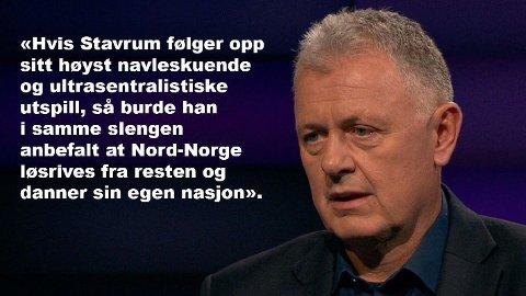 NORDAVIND: Ikke alle nordlendinger er enig i at Nord-Norgebanen til 133 milliarder kroner bør legges rett i fjernarkivet.