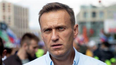INGEN TEGN: Prøver tatt av den fengslede opposisjonslederen Aleksej Navalnyj viser ingen tegn til forgiftning.