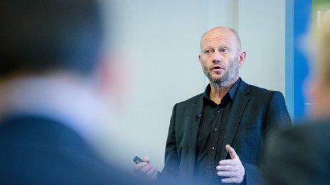 MODERASJON: Administrerende direktør Stein Lier-Hansen i NHO-foreningen Norsk Industri oppfordrer regjeringen til moderasjon når det gjelder å øke avgifter og redusere ulike skattefradrag for vanlige arbeidere.