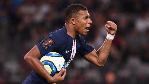 SEIER: Kylian Mbappé var sentral i PSGs seier mot Rennes.