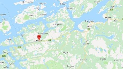 ULYKKE: To kvinner er alvorlig skadd etter en front mot front-kollisjon ved Hemne i Trøndelag.