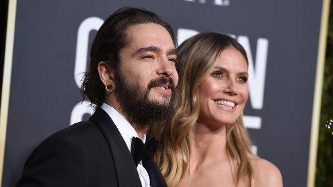 GIFTET SEG: Heidi Klum og kjæresten gjennom to år, Tom Kaulitz, skal ha giftet seg i all hemmelighet.