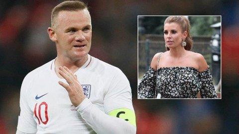 SKAL VÆRE SINT: Coleen Rooney skal ikke ha satt pris på ektemannens nye sponsoravtale.