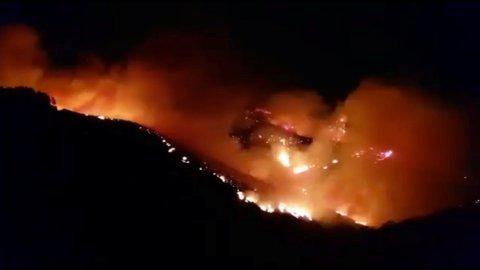 Det har brutt ut skogbrann på Gran Canaria. Flere titalls personer er evakuert.