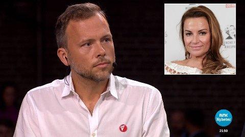 KRITIKK: Øysteins Stray Spetalens kone, Charlotte Spetalen, er ikke fornøyd med at SV-leder Audun Lysbakken mener at Stray Spetalen bør betale mer i skatt.