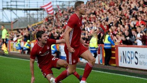 Sam Cosgrove har allerede scoret seks mål for Aberdeen i kvalifiseringsrundene til Europa League i sommer. I kveld er spissen en av dem som må levere om Aberdeen skal ta seg til playoff.