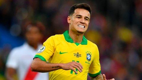 PÅ VEI TIL NY KLUBB: Coutinho skal være på vei til den tyske seriemesteren.