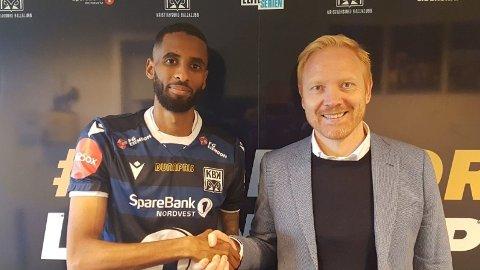 KLAR FOR NY KLUBB: Amahl Pellegrino er solgt til Kristiansund.