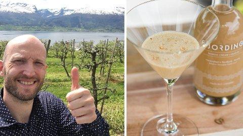 STERK HISTORIE: Gründer Øyvind Løkling sluttet i jobben i byggebransjen for å satse på kremlikør. To år senere snuser vestlendingen på mulighetene for eksport.