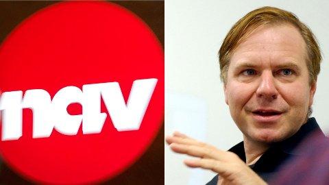 REAGERER: Alfred Bjørlo er ordfører for Venstre. Han mener det er helt vanvittige tall NAV presenterer fredag.