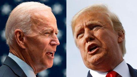 Joe Biden og Donald Trump ønsker begge det samme. Å lede supermakten USA. Foto: NTB / scanpix