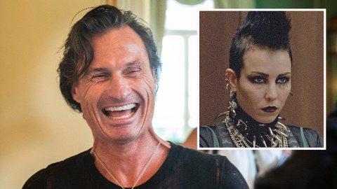 OPPKJØP: Petter Stordalen ønsker å kjøpe rettighetene til den lukrative Millennium-serien.Noomi Rapace (innfelt) har rollen som Lisbeth Salander i filmatiseringen av bøkene.