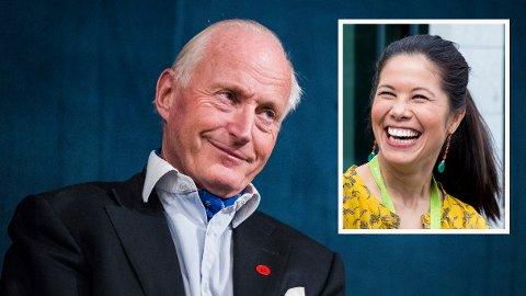 BILFRITT: Både eiendomsinvestor Christian Ringnes og MDG-politiker Lan Marie Berg ønsker et sentrum med mange folk og få biler.