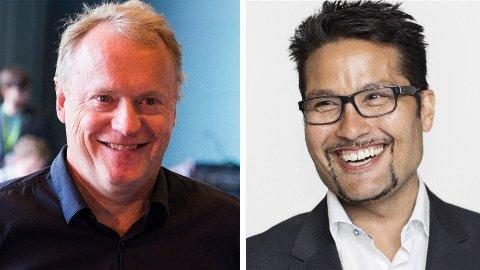 NYE SAMARBEIDSPARTNERE: Byrådsleder Raymond Johansen og Obos-sjef Daniel Kjørberg Siraj vil gå sammen om et nytt boligselskap som skal selge boliger under markedspris.