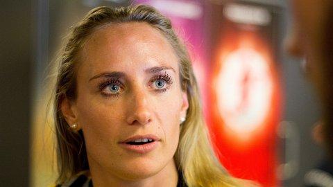 SATSER FOR FULLT: Camilla Herrem ser frem mot en spennende sesong med både klubb- og landslag.