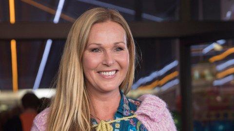 DORTHE SKAPPEL har vært programleder i «God kveld Norge» i 20 år. Her er hun på kanalens høstlansering i 2017.