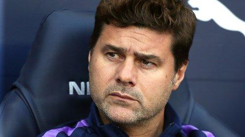 IRRITERT: Tottenham-manager Mauricio Pochettino er lite imponert over ryktene om ham som har versert i sosiale medier den siste tiden.