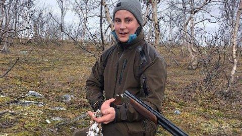 MISTET LIVET: Kevin Berg, sønn av Frp-politiker Ronny Berg, mistet livet i helikopterstyrten i Alta lørdag 31. august.