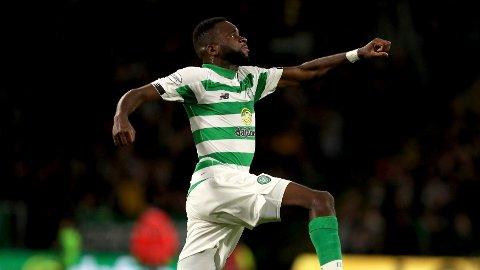 SCORET: Odsonne Édouard ble matchvinner da Celtic slo Rangers 2-0 i søndagens Old Firm. Foto: Andrew Milligan