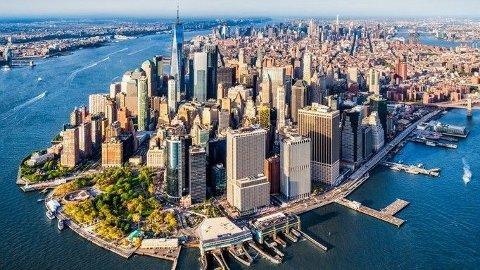 KOSTBART: Manhattan og New York vil bli et svært dyrt reisemål for nordmenn med den synkende krona.