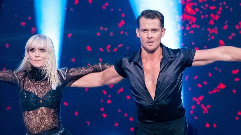 MYE OPPMERKSOMHET: Aleksander Hetland og Nadya Khamitskaya har blitt et par å regne med i «Skal vi danse», etter bare én dans.