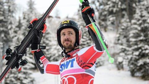 BEKREFTER AT KARRIEREN ER OVER: Marcel Hirscher har valgt å legge skiene på hylla.