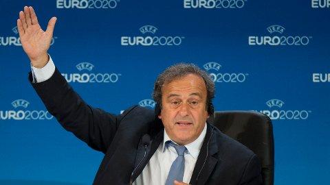 VIL TILBAKE: Michel Platini vil vende tilbake til fotballen etter at utestengelsen er over.