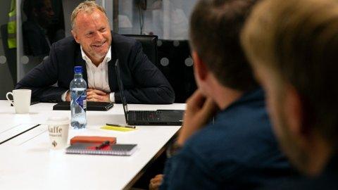 AVLØSNING: Arbeiderpartiet og byrådsleder Raymond Johansen trenger tid for å finne seg selv. Partiet har latt seg presse for langt til venstre i byrådssamarbeidet i Oslo.