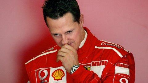INNLAGT PÅ SYKEHUS: Michael Schumacher skal være innlagt på sykehus i Paris mandag, melder fransk avis
