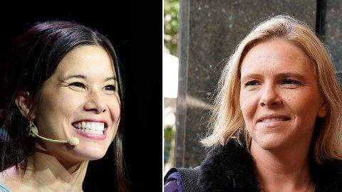 LIKHETER? Kristin Clemet trekker likhetstrekk mellom Lan Marie Berg og Sylvi Listhaug.