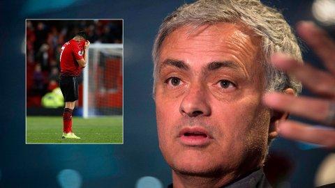 SNAKKER UT: José Mourinho forklarer hvorfor det ikke ville seg for Alexis Sánchez i Manchester United.