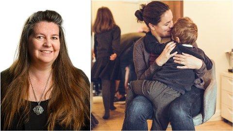 DETTE BØR DU GJØRE: Klara Øverland, psykologspesialist og førsteamanuensis ved Læringsmiljøsenteret, UIS, forteller hvordan du kan finne ut om barnet ditt har alvorlig separasjonsangst og hva som kan gjøres.