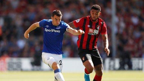MÅLGIVENDE: Joshua King leverte en god kamp for Bournemouth.