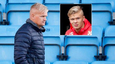 PASSER PÅ: Pappa Alf-Inge Håland mener det beste sønnen Erling Braut Haaland kan gjøre er å fokusere på trening.