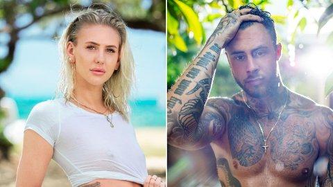 ROMANSERYKTER: Etter deltakelsen i «Ex on the Beach» har romanseryktene rundt Victoria Øren Hammer og Daniel Louis virret. Nå svarer de.
