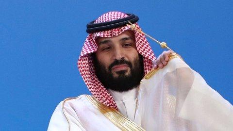 Saudi-Arabias kronprins Mohammed bin Salman (bildet) sier at han «absolutt ikke» beordret drapet på journalist Jamal Khashoggi, men at han tar «fullt ansvar» for det.